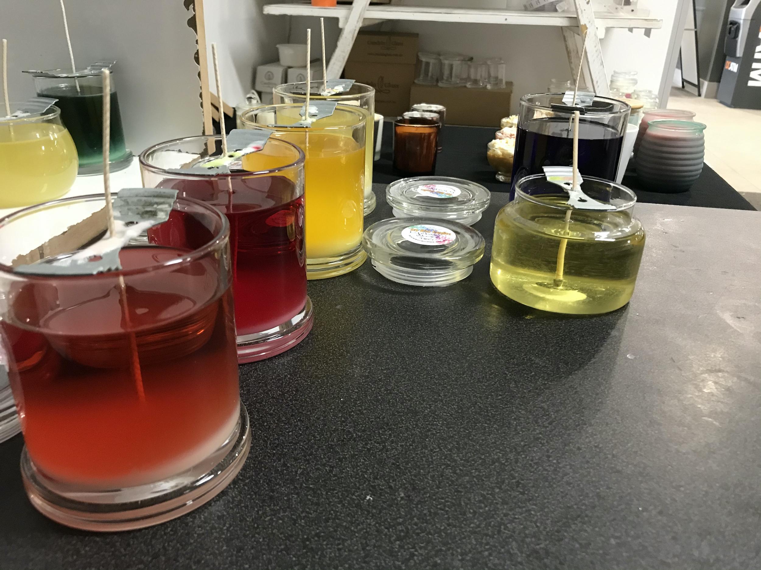 Refilling glass jars